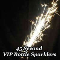 45 Second VIP Nightclub Bottle Sparklers