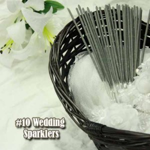 2400pc #10 Wholesale Party Sparklers in Bulk  400 Packages of 6 Sparklers