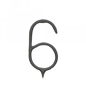 Number Shape Sparkler : No. 6