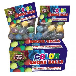 6pk Color Smoke Balls