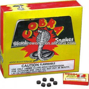 Black Snake Display Box 48 Packs of 6