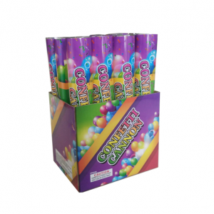 72pc 12 inch Color Party Confetti Cannon