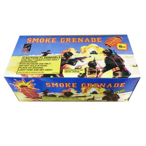 48pc Mini Smoke Grenades